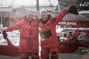 MULTI50 ARKEMA - SKIPPER LALOU ROUCAYROL (FR) / ALEX PELLA (ES) / DEPARTURE TRANSAT JACQUES VABRE 2017