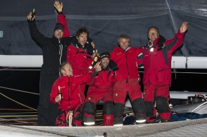 SAILING - IDEC SPORT JULES VERNE TROPHY RECORD ATTEMPT