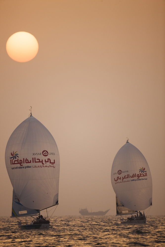 Sailing Arabia 35