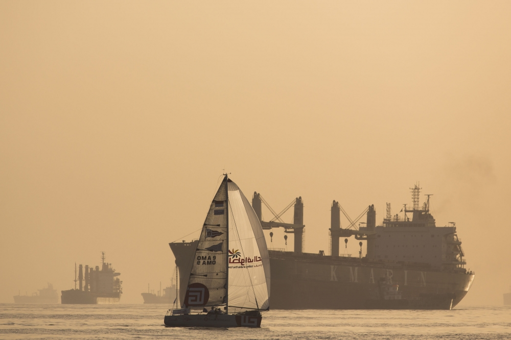 Sailing Arabia 25