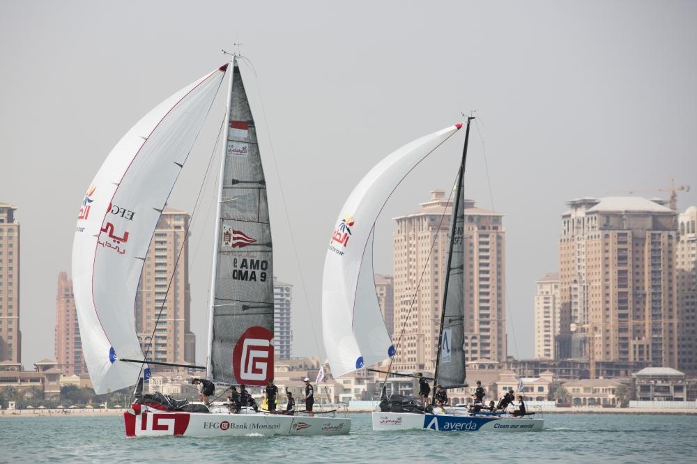 Sailing Arabia 45